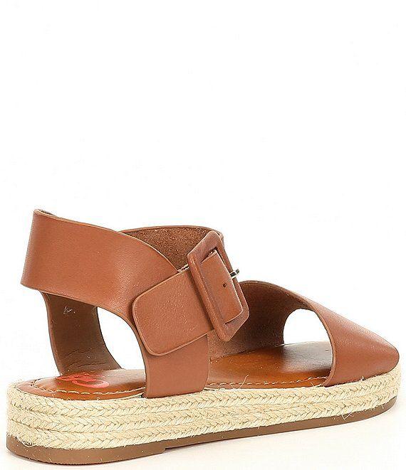 Piece Espadrille Flat Sandals (Youth
