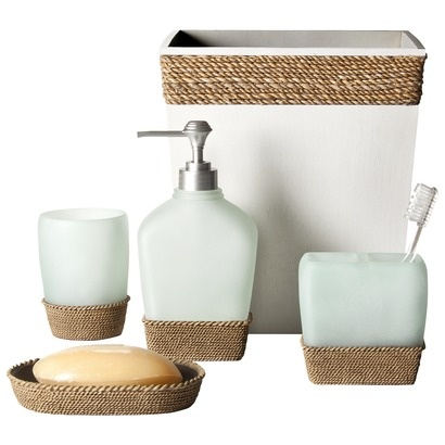 17 best images about for the home on pinterest nooks for Bathroom accessories target