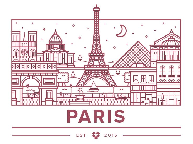 Dropbox recently opened an office in Paris, which meant I finally got to try my hand at one of these nifty city illustrations. It was fun, maybe I'll do more in the future...  Read about the new of...