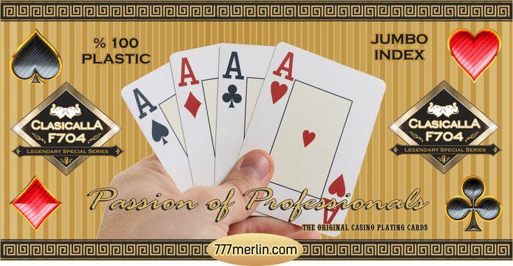 Plastik Poker Kağıdı