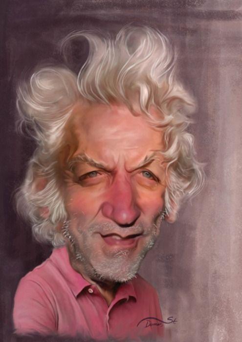 Donald Sutherland    Artist: Stavros Damos    website: http://stdamos.deviantart.com/