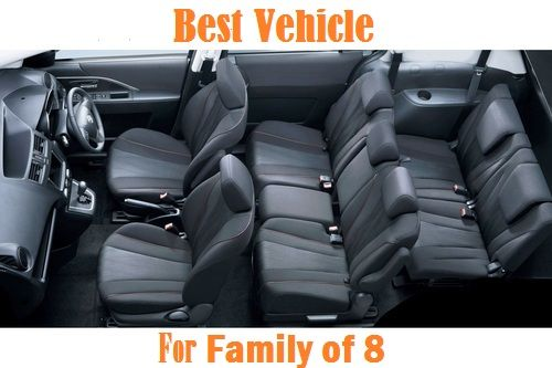 Best Vehicle For Family Of 8 In Includes All Models From High Range To Mid Suvs Crossoverinivans