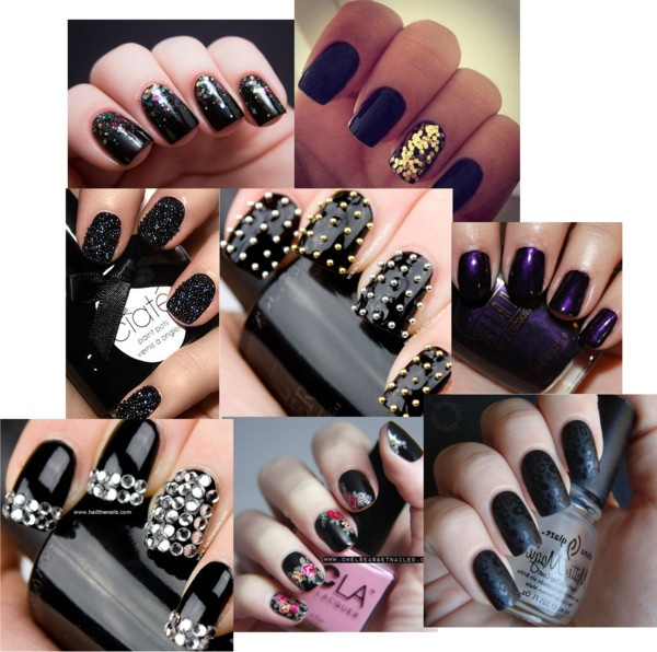 """NAILS!:D"" by izzydaughtry ❤ liked on Polyvore"