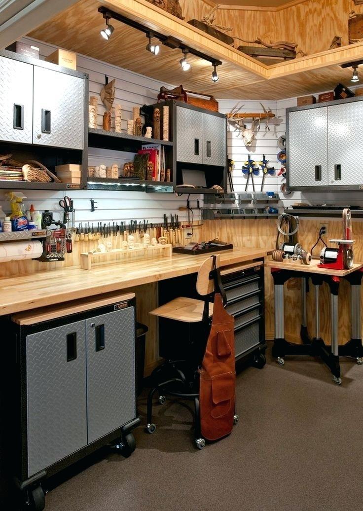 Shed Workbench Ideas Garage Ideas Cool Garage Ideas Cheap Garage