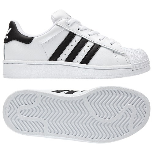 New kicks, a classic, kids size Adidas Superstar 2 Shoes