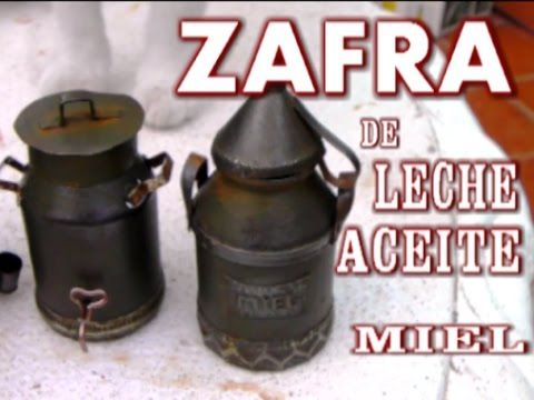 COMO HACER UNA ZAFRA O CANTARA DE ACEITE, MIEL, O LECHE - HOW TO MAKE MINIATURE PITCHER - YouTube