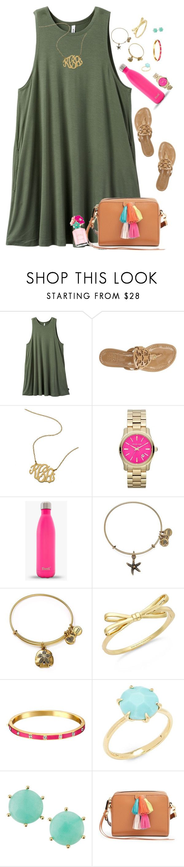 """My birthday dinner outfit in the items! I'll be posting better pics soon! "" by moseleym ❤ liked on Polyvore featuring RVCA, Tory Burch, Michael Kors, Alex and Ani, Kate Spade, Ippolita, Panacea, Rebecca Minkoff and Marc Jacobs"