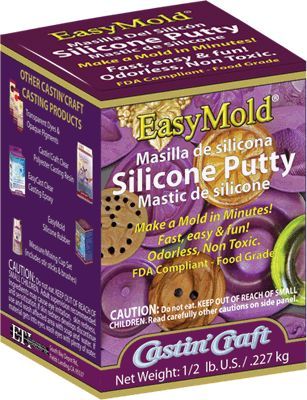 Make a mold for precious metal clay or resin jewelry.