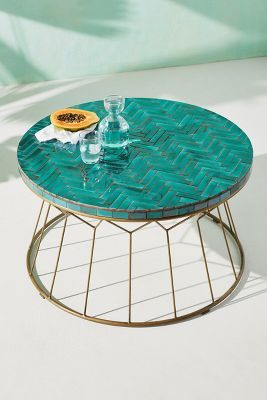 hourglass indoor outdoor coffee table in 2019 for the home rh pinterest com