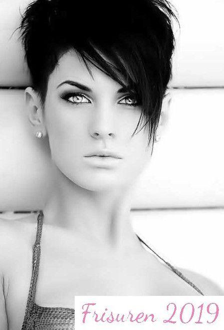 26 Beste Kurzhaarschnitte Fur Langes Gesicht Frauen Frisuren