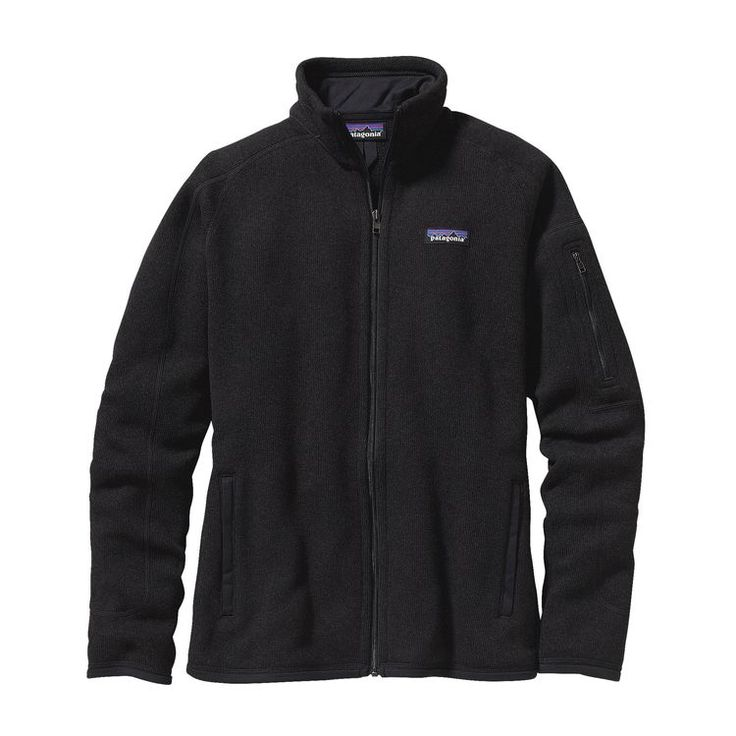 PATAGONIA W'S BETTER SWEATER JKT, Black (BLK)
