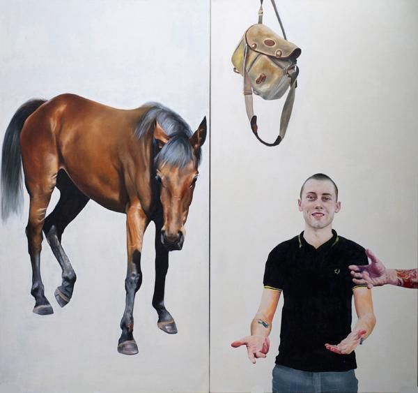 Chris Stevens - The Age of Reason / REALITY: Modern & Contemporary British Painting / Exhibitions