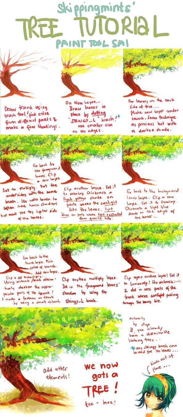 This is a tutorial to show you how to draw trees and other greens with markers. It's my first tutorial, so I hope you will like it and it will be helpful for you. Tools used: Letraset promarkers, b...