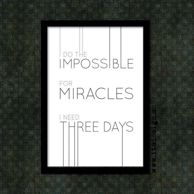 Miracle - Ita design #nordicdesigncollective #itadesign #miracle #wisdom #wordsofwisdom #visdomsord