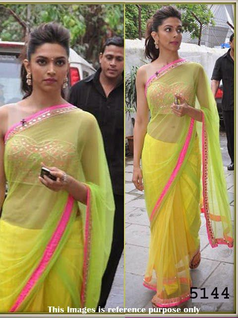 #DeepikaPadukon Chennai Exprees #Saree   #bollywoodfashion #bollywoodsaree #celebrityfashion #sareeonline #craftshopsindia