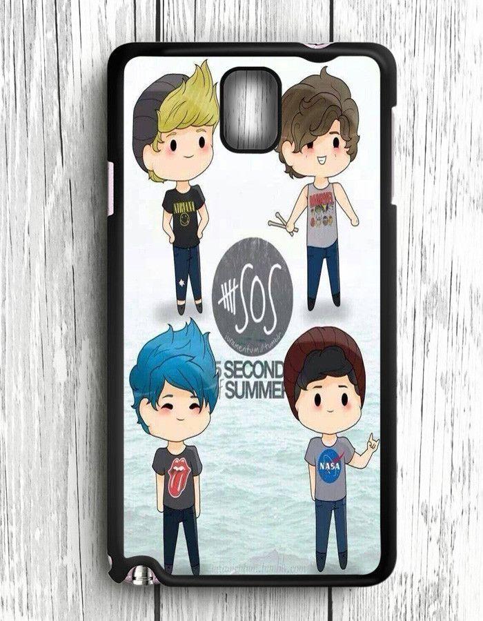 5 Second Of Summer 5 SOS Art Music Samsung Galaxy Note 3 | Samsung Note 3 Case