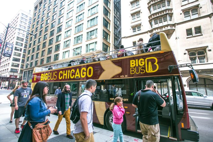 Chicago Hop-on Hop-off Bus Tour: 24, 48, or 72 Hours