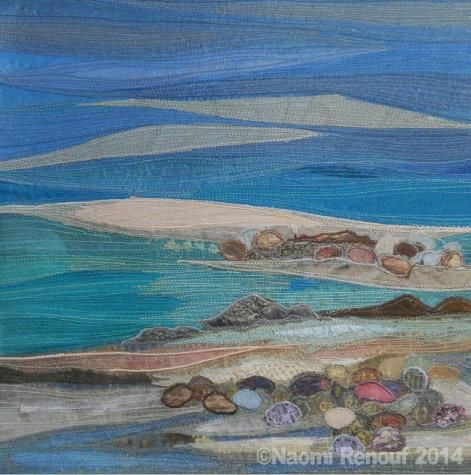 Textile Seascapes 2014 Edge of the Tide