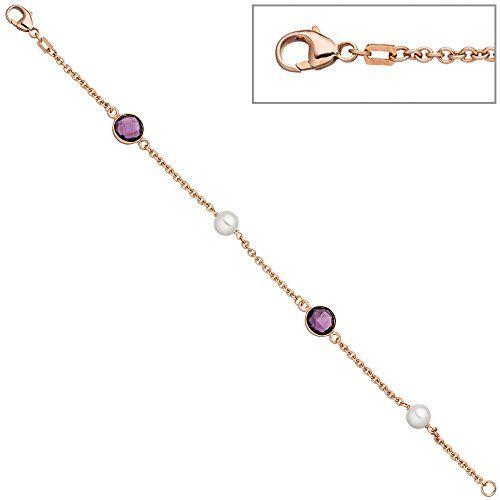 Dreambase Damen-Armband rotvergoldet Silber 2 Perle 19 cm... https://www.amazon.de/dp/B01IO793F8/?m=A37R2BYHN7XPNV