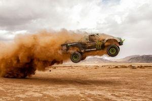 Monster Energy, BJ Baldwin, trophy truck
