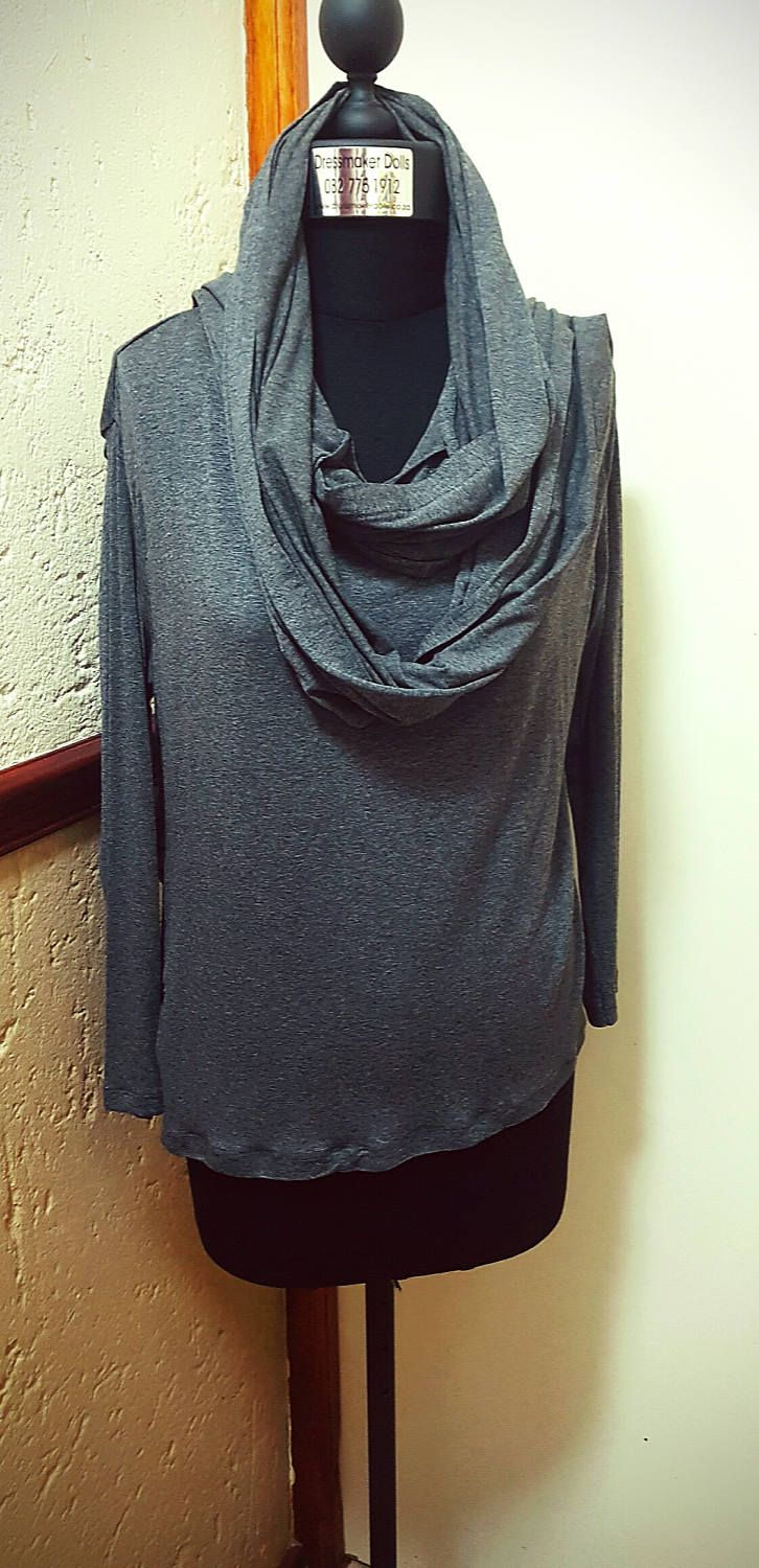 Attached Scarf T by BetrendByAdele on Etsy