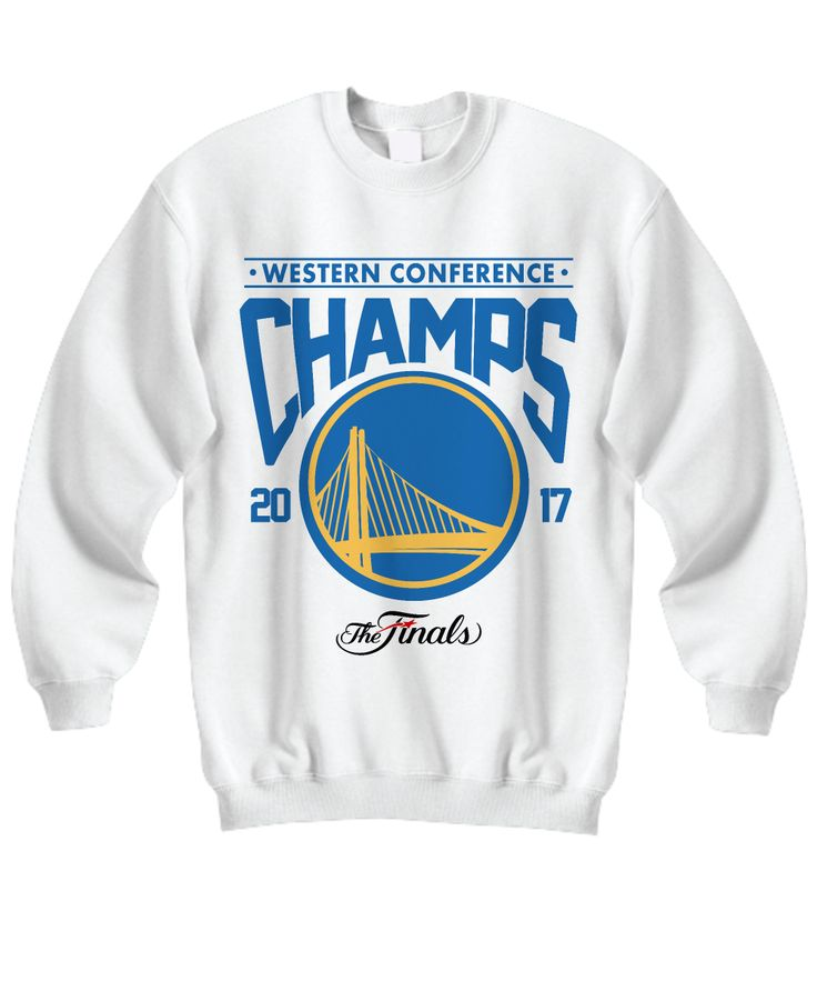 Golden State Warriors Western Conference Champions 2017 Inspired Sweatshirt. Makes A Great Gift For Golden State Warriors Fans, Basketball Fanatics On NBA Season, Birthday, Christmas Or Any Occasions. This sweatshirt comes in different colors and sizes. We also have V-Neck Tee, Women's Tee, Unisex Tee, Premium, Hoodie, Zip Hoodie and Long Sleeve. SHOP NOW!