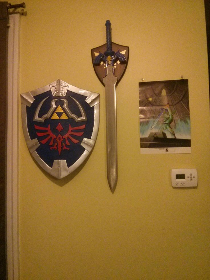 Fan legend of zelda hyrule sword shield legend of zelda for Decoration zelda