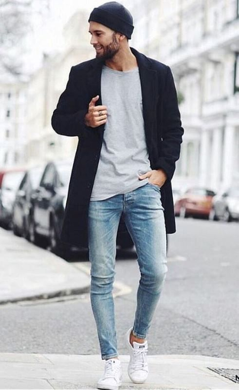 b737b8ebb9aaa zapatillas para usar con jeans hombre
