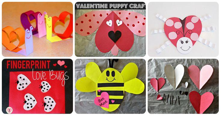 Colección de manualidades creativas para el 14 de febrero San Valentín, día del amor y de la amistad