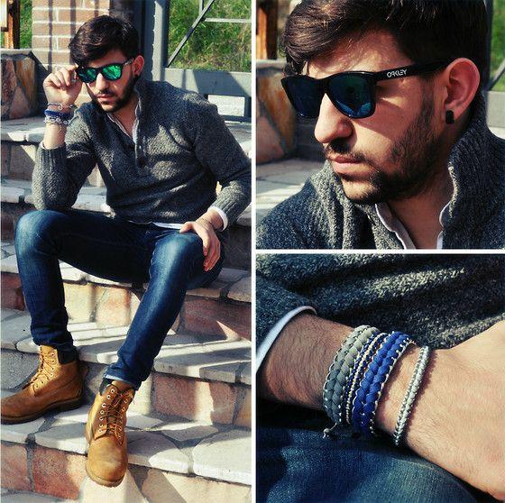 Carioca bracelets (by Pierluigi Musco) http://lookbook.nu/look/4586517-Carioca-bracelets