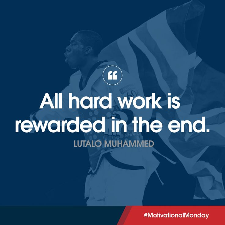 Olympic Bronze medallist Lutalo Muhammad is motivated for the Manchester Taekwondo GP this week! Are you ready for the week ahead?  #MondayMotivation