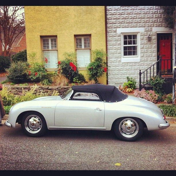 Silver Porsche 356: Porsche 356, Porsche, Car Ride