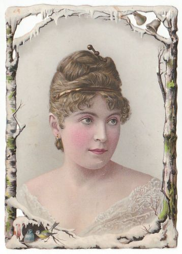 Beautiful-Lady trade-card