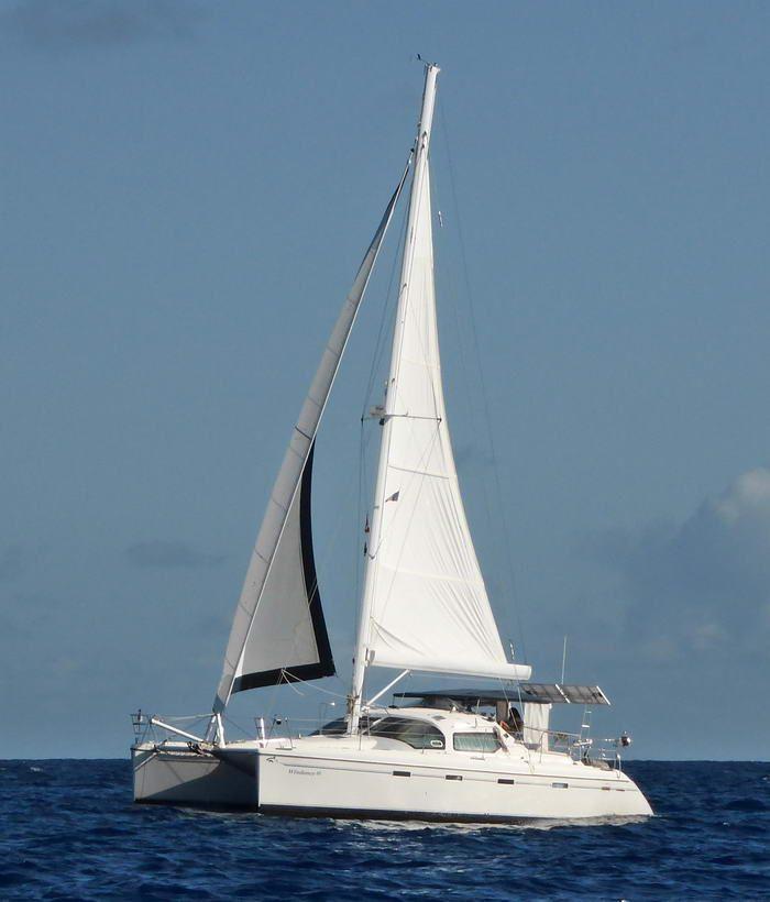 Privilege 435 EZC Cruising Catamaran for sale by owner, Privilege 435 EZC sailing catamaran for sale, Privilege 435 catamaran for sale