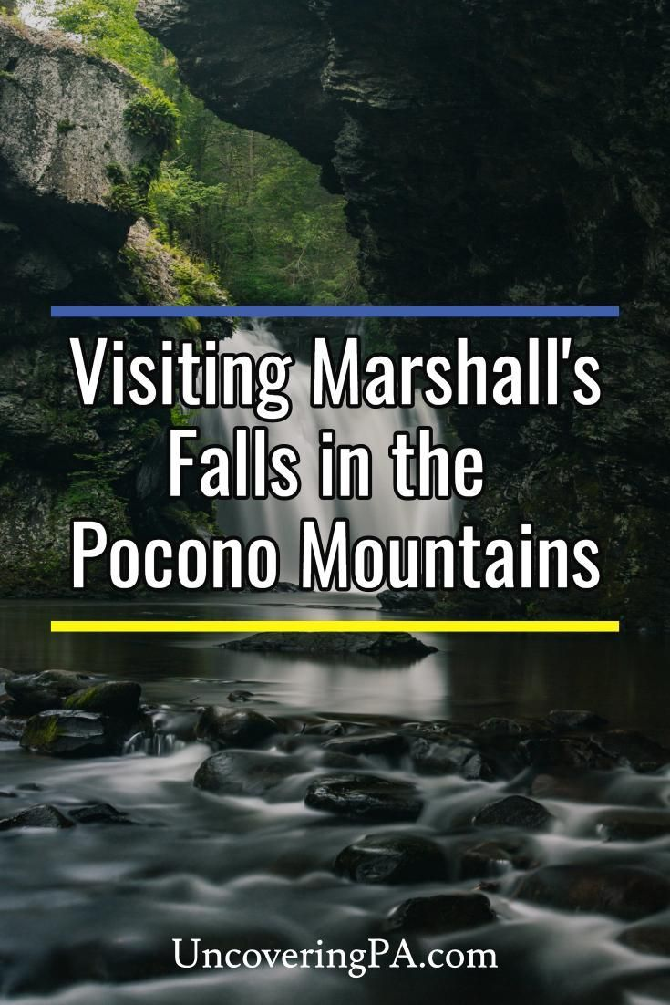 How To Get To Marshall S Falls Near Stroudsburg Pa Pennsylvania Travel Pennsylvania Waterfalls Poconos