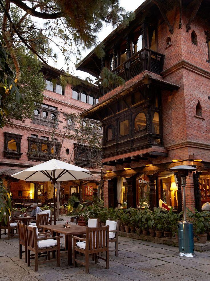 Dwarika's in Kathmandu Nepal