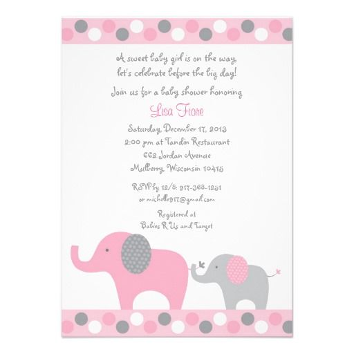 elephant baby showers pink elephant invitations baby showers shower