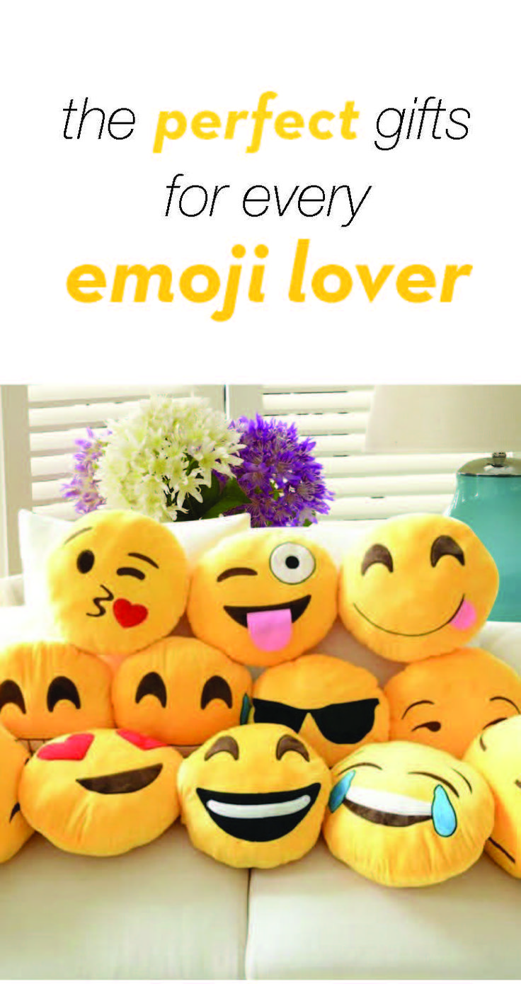 The perfect gift for every emoji lover!!