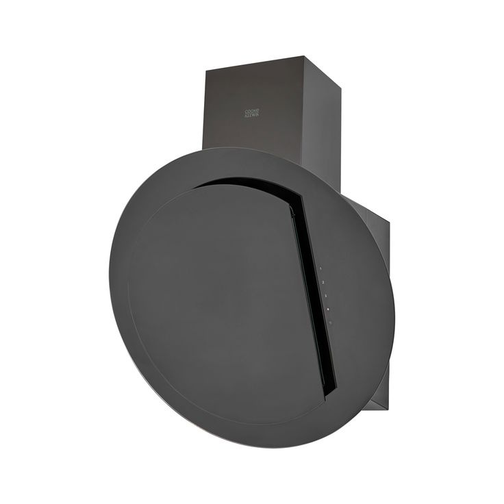 Cooke & Lewis CLRGB60 Black Glass Angled Cooker Hood, (W) 600mm | Departments | DIY at B&Q
