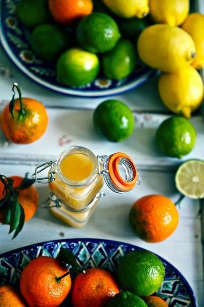 Лаймово-мандариновый курд по рецепту Пьера Эрме и ... с праздником ноября!