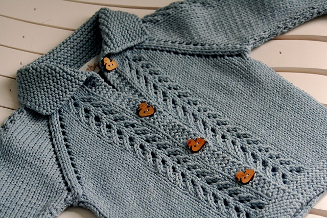 Baby Blue Cardigan by tinypurls, via Flickr