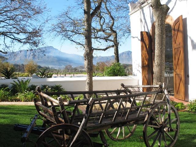 Old French Huguenot wagon