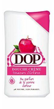 DOP Douche Crême Douceur d'enfance au parfum de la pomme d'amour. Une odeur divine gourmande et sucrée parfaite pour l'hiver