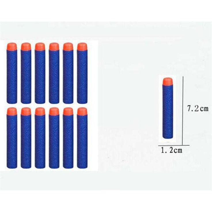 Weichen Kopf 100 stücke 7,2 cm Refill Darts für Nerf n-strike Elite Blasters Kind Spielzeugpistole