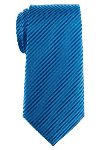 + Findes i mange farver Retreez Men's Tie with Stripe Textured - Turquoise…