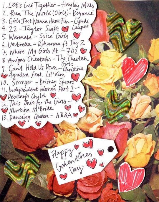 Galentine's Day Playlist from Rookie