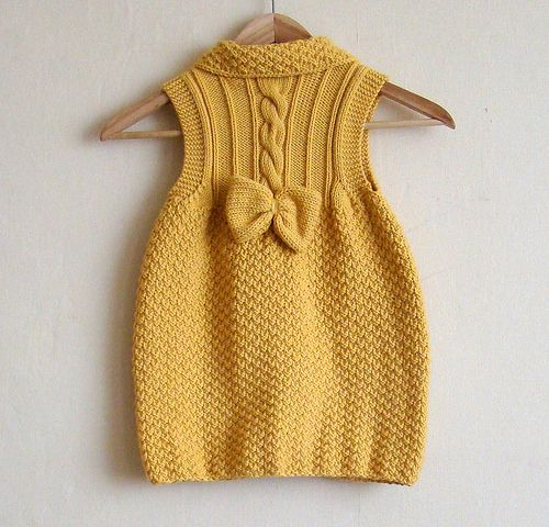 Knitting Patterns For Baby Dresses : 1000+ ideas about Knit Baby Dress on Pinterest Knitting, Ravelry and Croche...