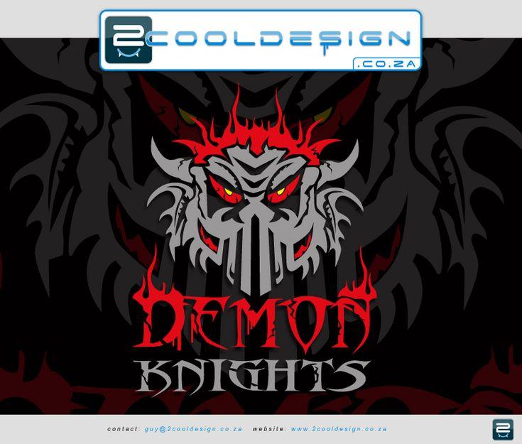 demon knights tshirt design. Created by Guy Tasker