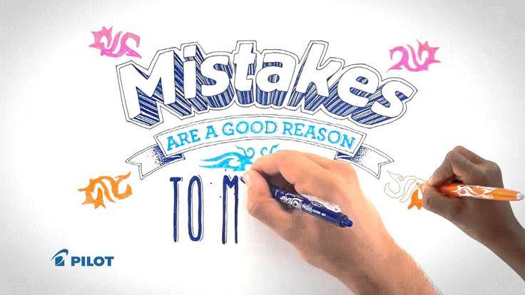 Pilot FriXion Erasable Gel Ink Pen #happywriting http://www.blog.bog-ide.dk/frixion-og-malede-kladdehaefter/