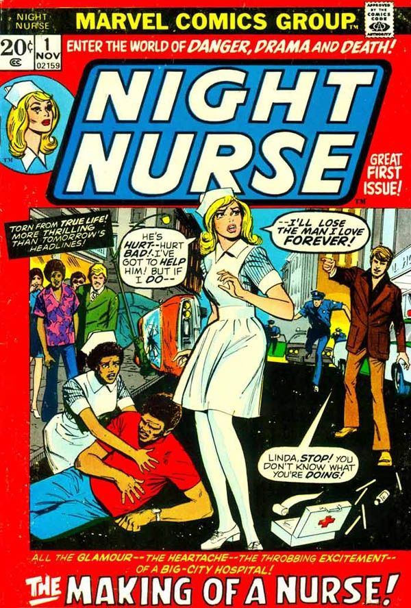You joke but Night Nurse has been announced to be in the Daredevil series. Description from neogaf.com. I searched for this on bing.com/images